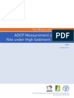 ADCP Measurement of the Blue Nile
