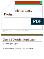 Lect 12 - Combinational Logic Design
