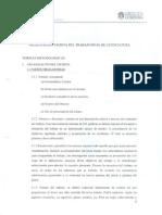 Reglamento escritura TFL