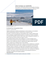 Planos Para Limitar Turismo Na Antártida