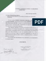 Carta de Renuncia y Guia de Traqnsporte
