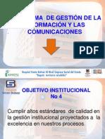 Presentación Programa de Gestion de La Informacion y Comunicaciones