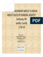 What a landowner needs to know about the sale of mineral rights