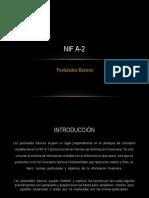 NIF a-2 Postulados Basicos