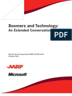 Microsoft's report on Boomers & Technology