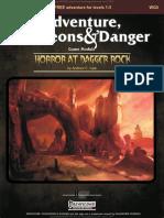 Horror at Dagger Rock