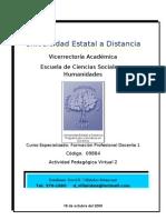 Actividad Pedagógica Virtual 2David