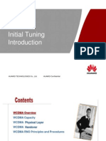 WCDMA Initial Tuning Introduction