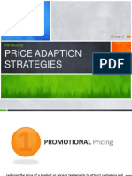 Price Adaptation Strategy