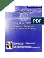 IGCSE Physics Paper 1