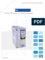 WEG Pump Genius Control Multiplie Pumps With One Drive Usapumpscfw11 Brochure English