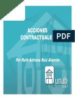 acciones contractuales