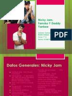 Nicky Jam, Farruko Y Daddy Yankee Documento de Camila y Ruben