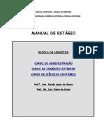Manual de Estágio Formandos a Partir de 2014