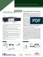 Mediant 3000 Datasheet