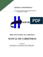 Manual de Carreteras de Honduras