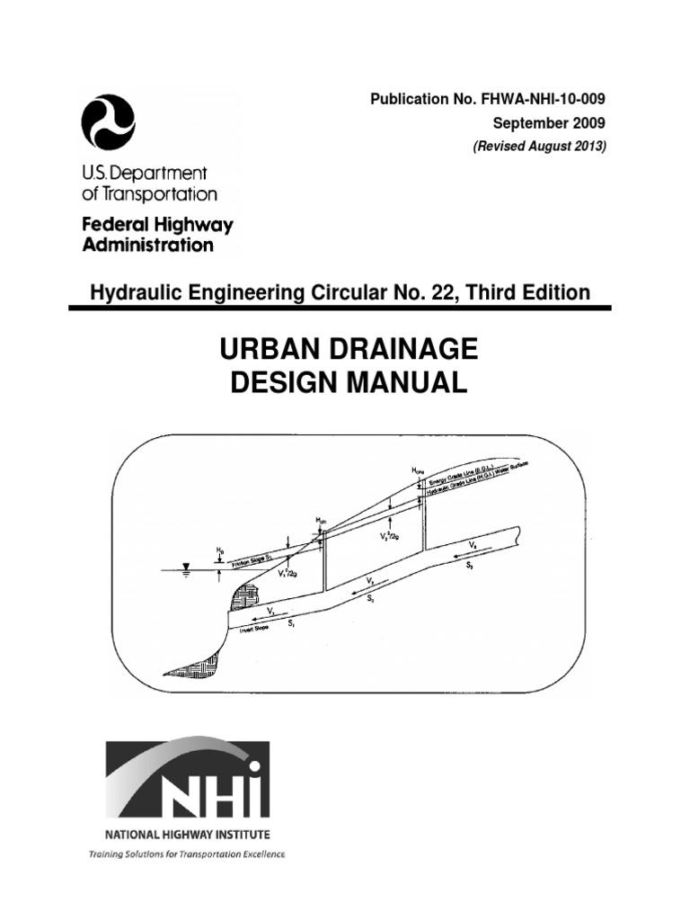 Urban drainage design manual storm drain stormwater nvjuhfo Image collections