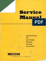 Necchi Service Manual Bu-bf Nova-mira