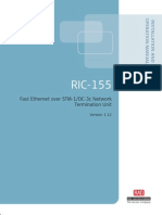 RIC-155 Installation and Operation Manual