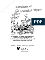Traditional Knowledge & IP - A Handbook on Issues & Options