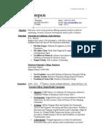 2011 Jul 9 Resume