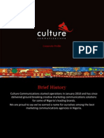 Culture Profile Mini - 2014 Q3