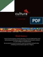 Culture Profile Mini - 2014 Q3