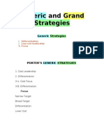 Grand and Generic Strategies 2