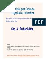 Cap 4 - Probabilidade