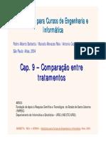 Cap 9 - Comparação Entre Tratamentos