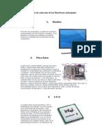 Definicion de Cada Uno de Los Hardware Principales
