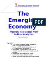 Emerging Economy December 2009 Indicus Analytics