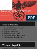 development of nazism