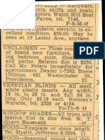 classified ads (1954)