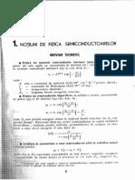 1. Notiuni de Fizica Semiconductoarelor