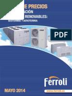 FERROLI AIRE ACONDICIONADO 2014.pdf