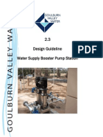 Design Guidelines Water Supply Booster Pump Station