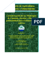 Diagnostico Para Tres Municipios Del Corredor Seco 2001