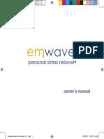 Emwave Owners Manual v1 2 1