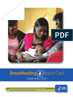 2014 Breastfeeding Report Card