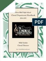 rb choral department handbook 2014-2015