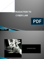 Introduction to Cyber Law