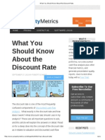 What You Should Know About the Discount Rate