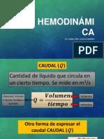 Hemodinámica y Regulación de La PA