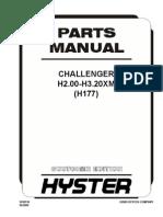 133240781 Parts Manual Challenger H2 00 H3 20XM
