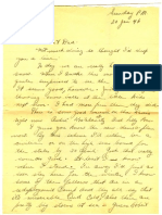letter home from a young soldier (1946)