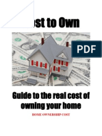 Home Ownership Cost