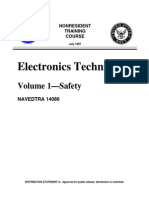 US Navy Training Course - Electronics Technician - Volume 01 - Safety