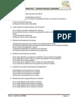 Ejercicios ATOMO y MATERIA (Test y Desarrollo)_3FyQ