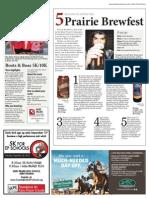 5 Reasons to Attend Prairie Brewfest